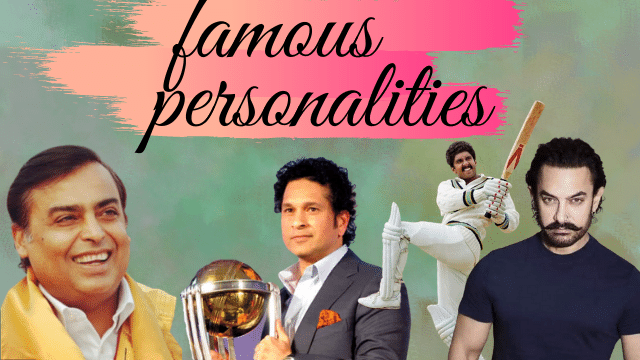 top five famous personalites