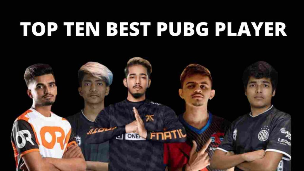 ALL TOP PUBG GAMERS AND PLAYERS