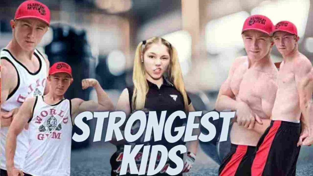 The young bodybuilder Gymers kids in the world